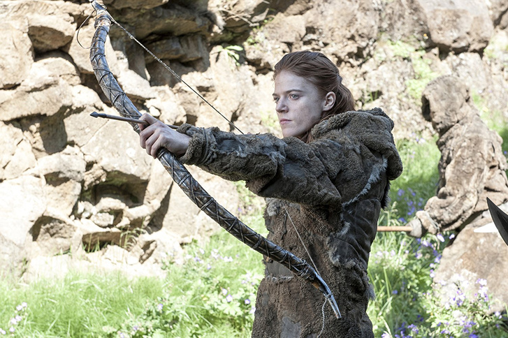 Ygritte a Game of Thrones-ból