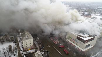 Kigyulladt egy bevásárlóközpont Dél-Oroszországban