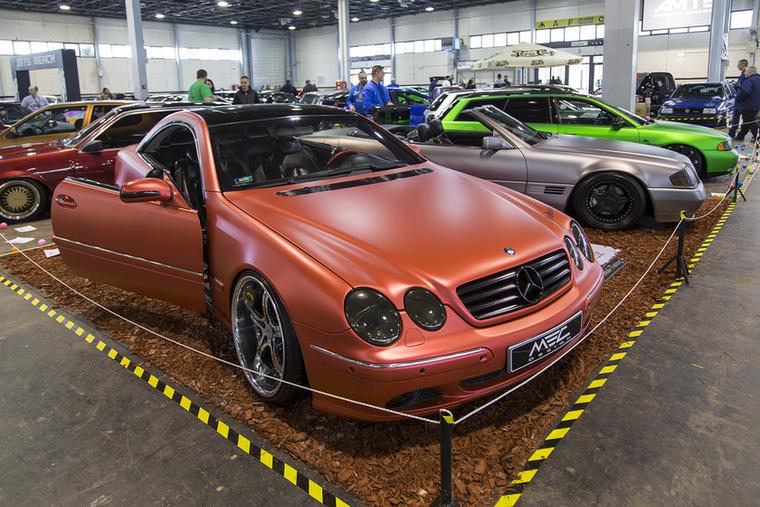 Mercedesek a berlini MB specialista MEC Design műhelyéből