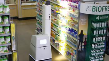 Furcsa robotok mászkálnak az amerikai boltokban