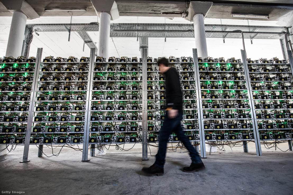 Bitcoin bánya Ausztriában