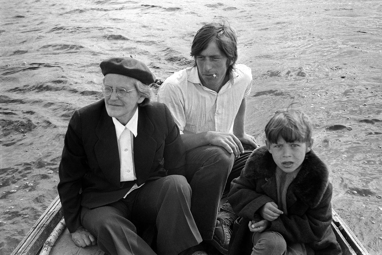 Egy orosz családi kép a Moszkvától 700 kilométerre lévő Puskin hegyen