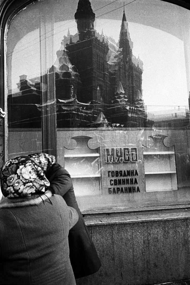 Moszkvai hentesüzlet 1978-ban.