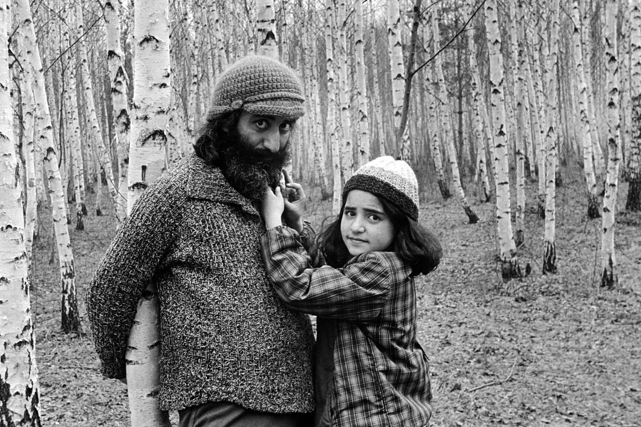 Melvar Melkumjan és Aszja Moszkvában, 1976-ban.