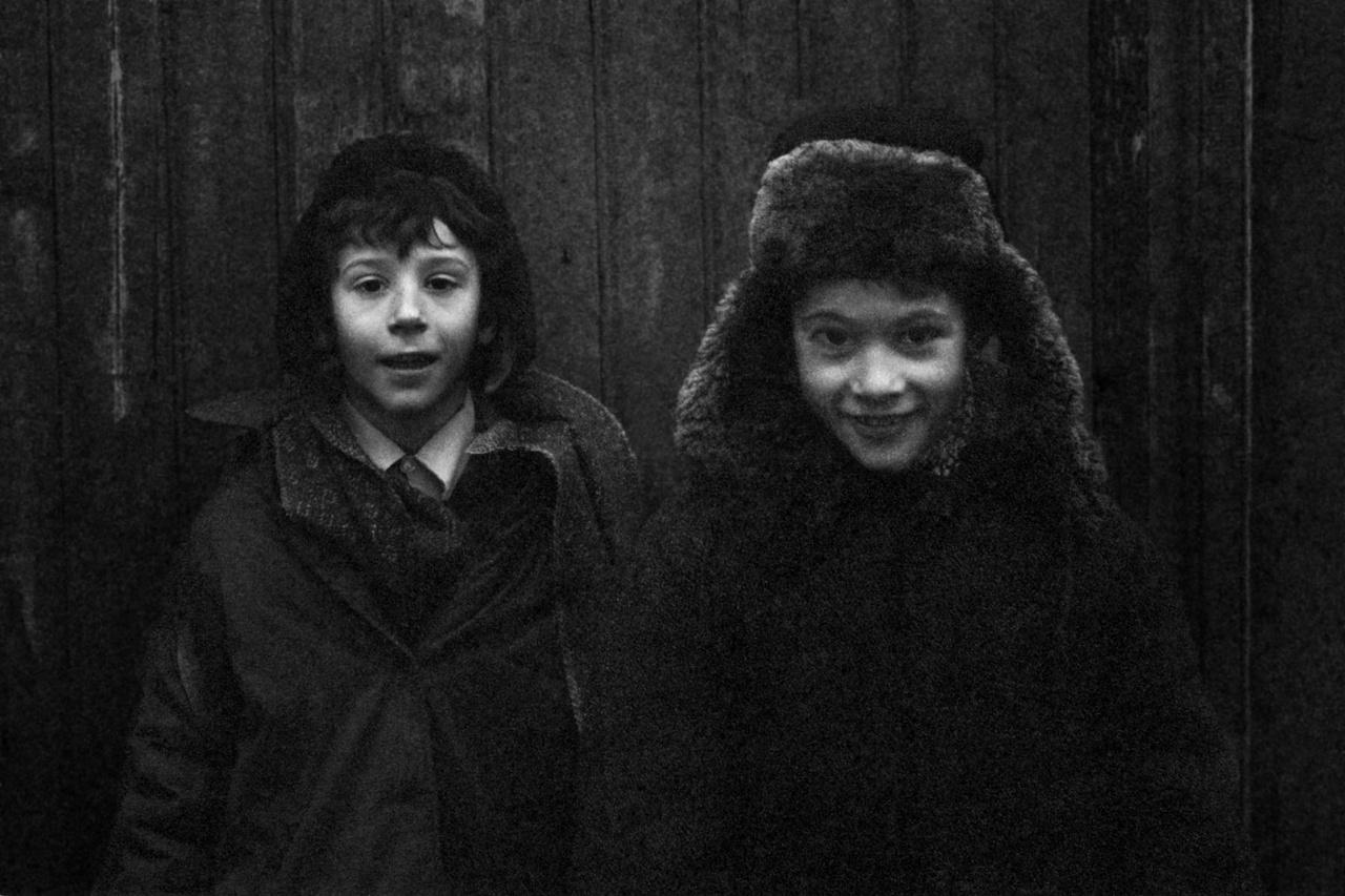 Két fiú a Moszkvától 600 kilométerre fekvő Sztaraja Russzában