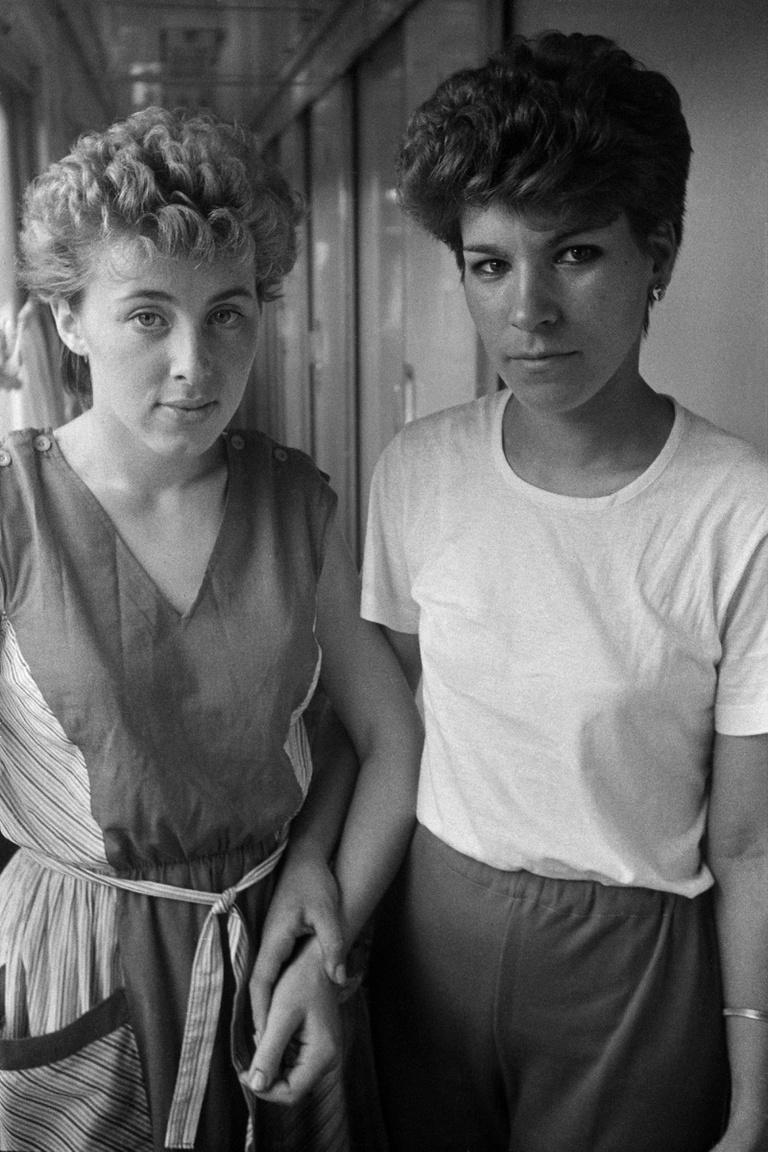 Két nő Tbilisziben, a Grúz Szovjet Szocialista Köztársaságban.