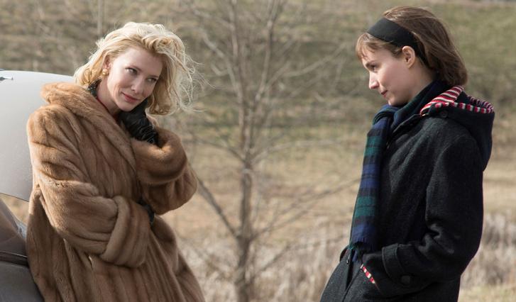 Cate Blanchett-tel a Carolban
