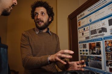 Csonka Szabolcs, a BME kutatója.
