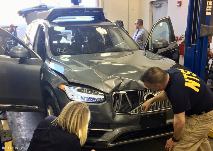 A halálos balesetet okozó Volvo vizsgálata