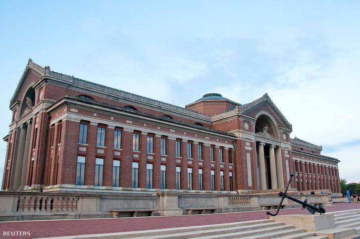 A washingtoni Nemzetvédelmi Egyetem épülete