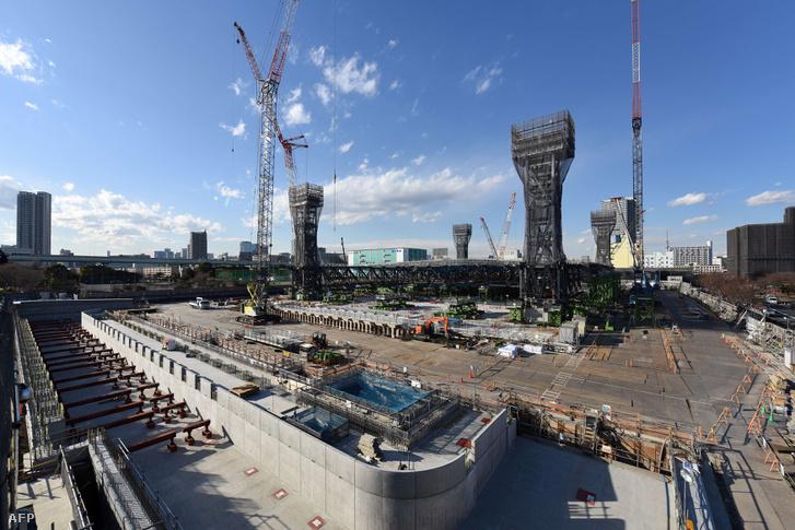 Gőzerővel épülnek a két év múlva esedékes olimpia helyszínei