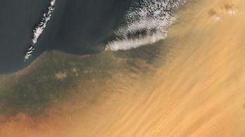 Így fedte be a szaharai homok Kelet-Európát