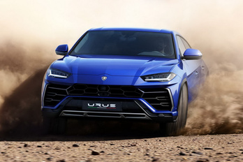 Versenyezni fog a Lamborghini Urus