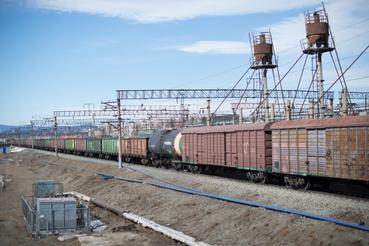 Ulan-Ude a transzszibériai vasút 5642. kilométerénél található