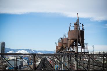 Az orosz-japán háború idején még ideiglenes síneket is raktak a Bajkál jegére
