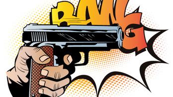 Lövöldözés vaktölténnyel