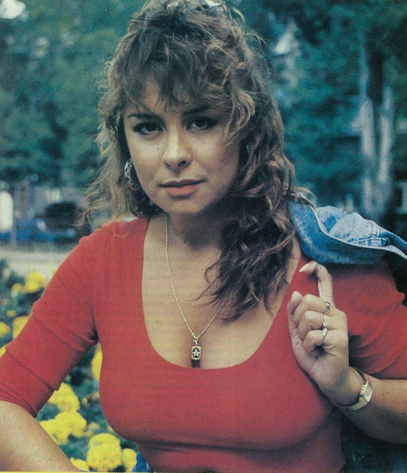 Szulák Andrea nagyon dögös volt fiatal korában.