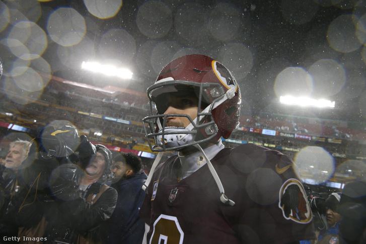 Kirk Cousins még a Redskins irányítójaként