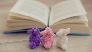 Hat könyv, amit tojhat a nyuszi