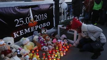Kemerovói tűzvész: nagyon megugrott a halottak száma