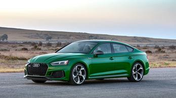 Audi RS5 Sportback: 4 másodpercen belül százon