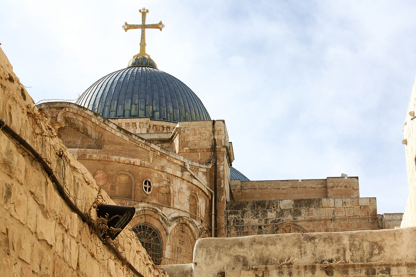 Itt feszíthették keresztre Jézust: ma bazilika magaslik a Golgotán