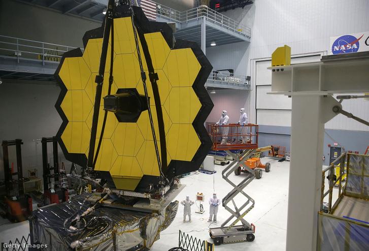 A James Webb űrteleszkóp összeszerelése 2016 novemberében