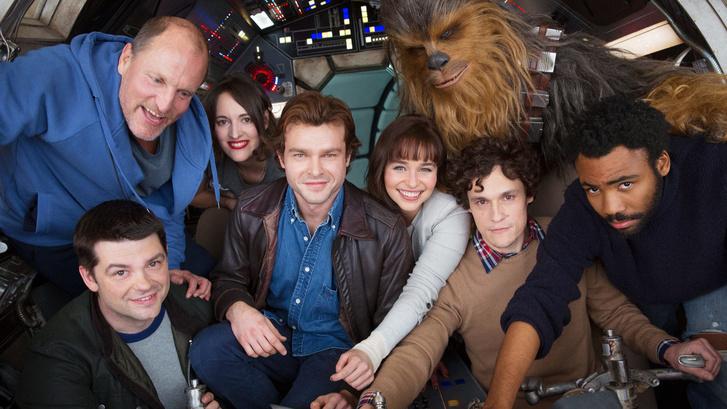 A rendezők még a Han Solo-film stábjával