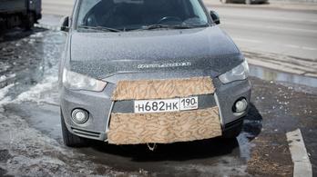 Száraz autómosás Szibéria szívében