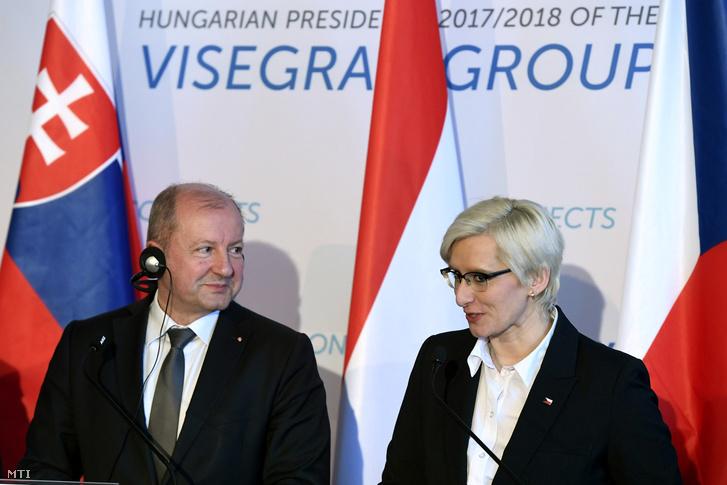 Simicskó István és Karla Šlechtová