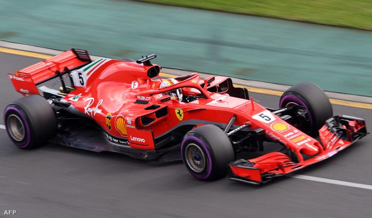 Az idei Ferrari