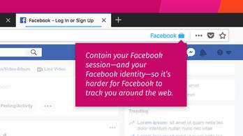 A Mozilla kiadott egy új kiegészítőt, amivel megvédhetjük az adatainkat a Facebooktól