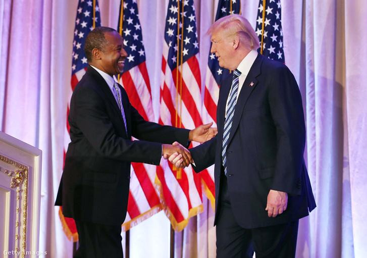Ben Carson és Trump