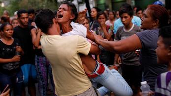 Több mint hatvanan haltak meg egy venezuelai börtönlázadásban
