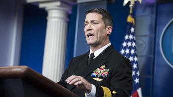 Trump a Fehér Ház orvosát teszi meg veteránügyi miniszternek