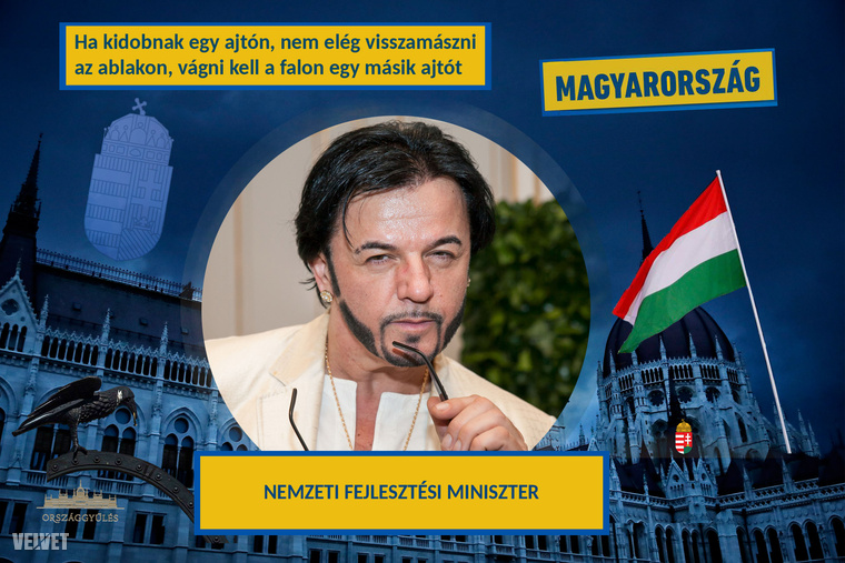 Kocsor ZsoltIlyen kampányszöveggel és lendülettel belegondolni is szédítő, hogy mennyire fel lenne fejlesztve Magyarország