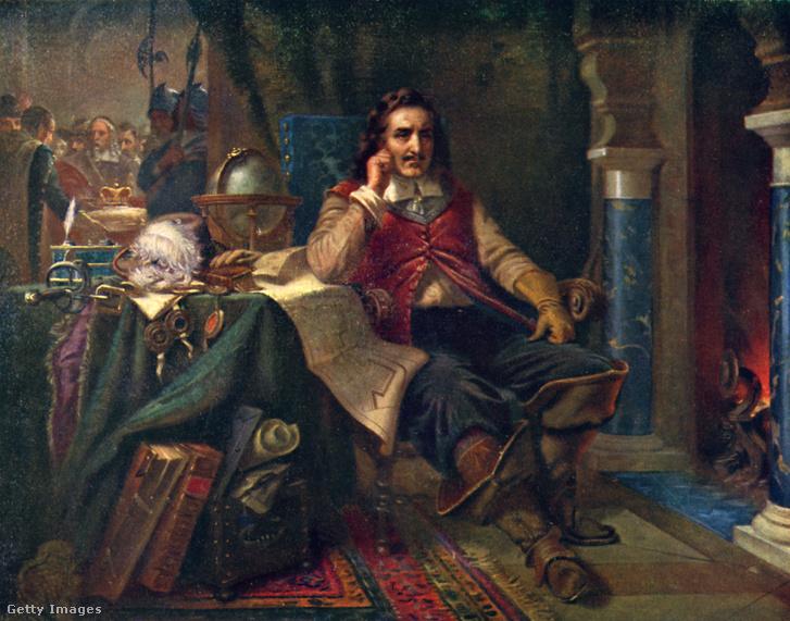 Cromwell viszautasítja a koronát