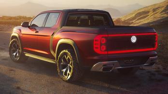 Óriás pick-upot mutatott a Volkswagen