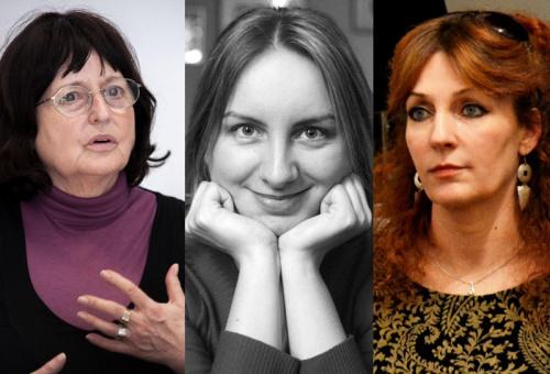 Mezey Katalin. Farkas Wellmann Éva, Mirtse Zsuzsa