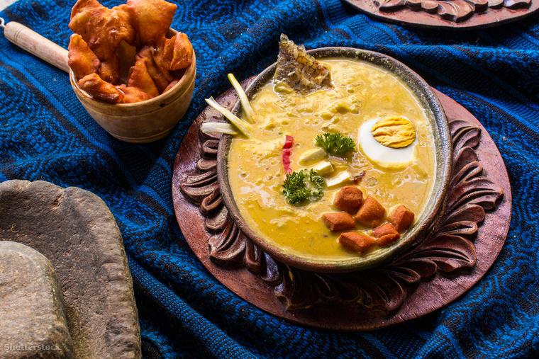 A fanesca levest tipikusan a nagyböjt utolsó hetén, a nagyhéten fogyasztják Ecuadorban