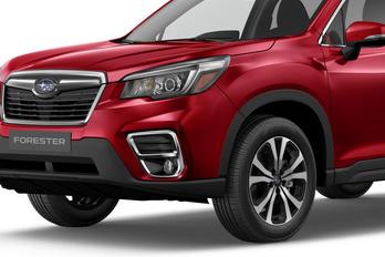 Ronda nagy batár az új Subaru Forester