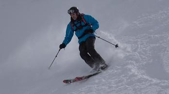 Kipróbáltuk a síelést, ahol a lavina, és nem a lejtő a kihívás