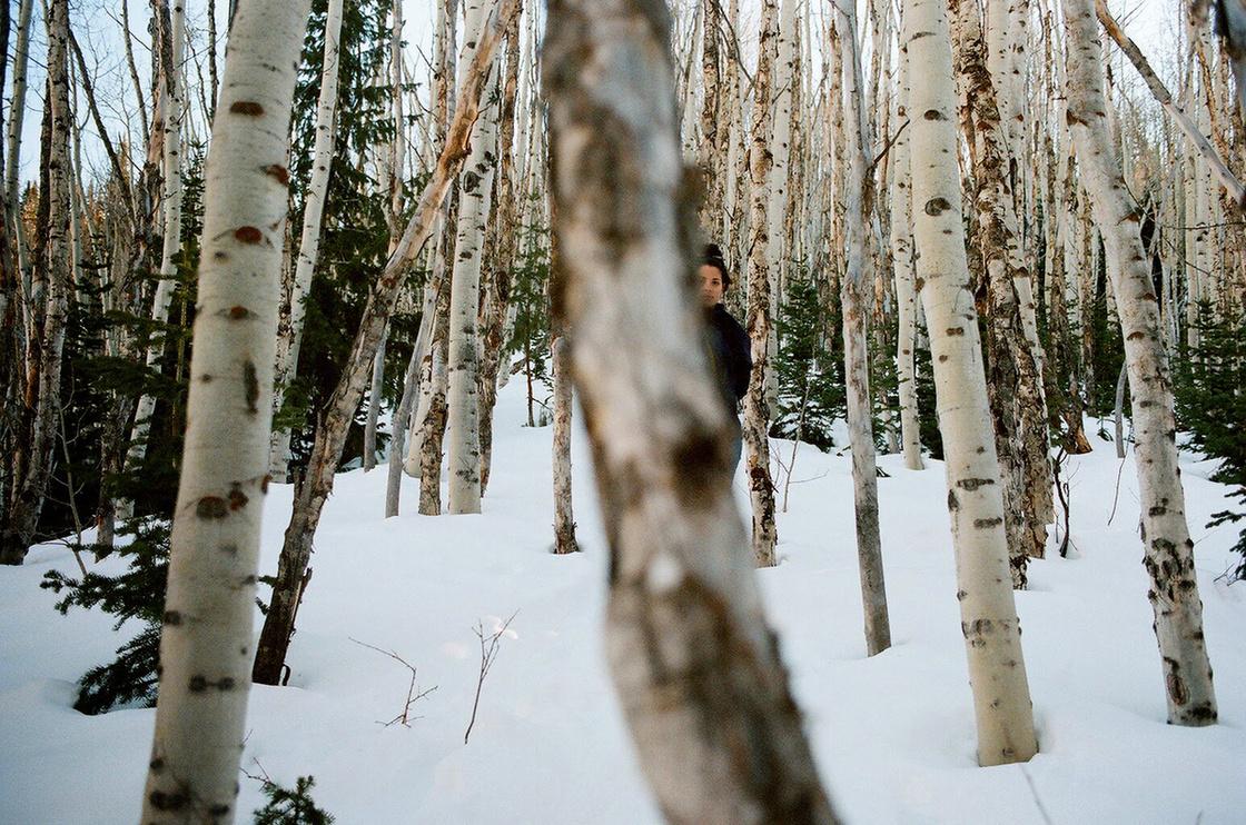 Zsófi a Sziklás hegységben, szintén a Sundance idején