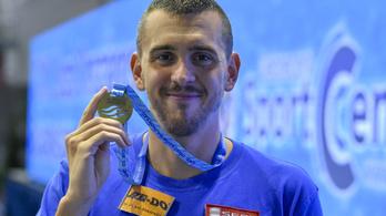 Két sztárúszó holtversenyben magyar bajnok