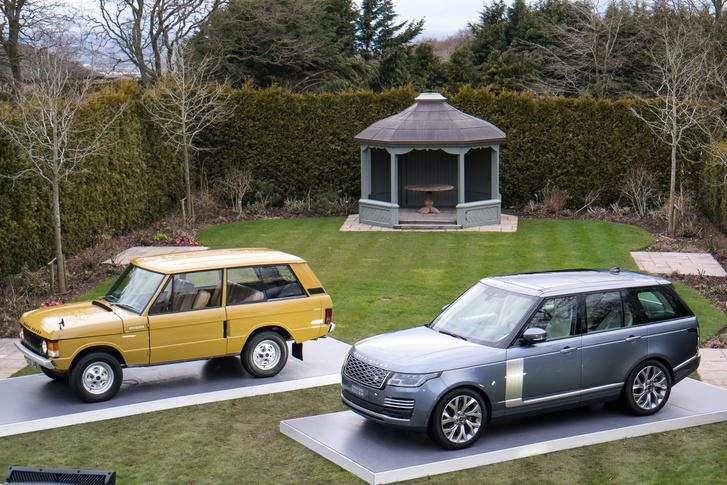 Valamivel kisebb volt egy Range Rover 1970-ben
