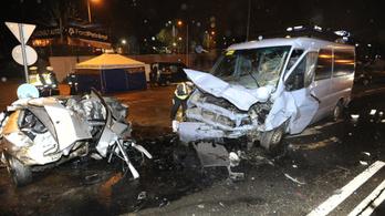 Ketten meghaltak a Budaörsi úton