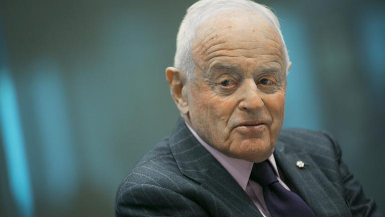 Meghalt Peter Munk, a magyar-kanadai dollármilliárdos