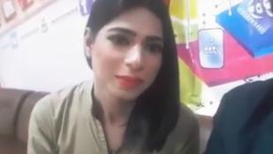 Történelmet írt egy transznemű nő a pakisztáni tévében