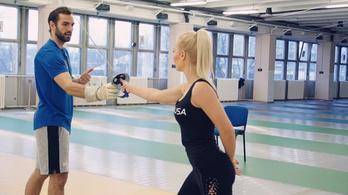 Szilágyi Áron brutális edzést adott a fitnesz világbajnokának