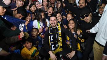Ibrahimovic máris meghódította Los Angelest